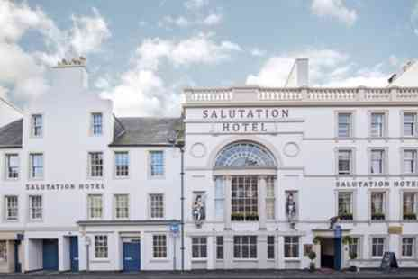 The Salutation Hotel - One Night Stay for Two with Breakfast, Dinner, Fizz, Whisky Tour, and Late Check Out - Save 58%