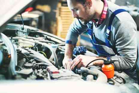 Sparrowhawk Motors - Full Car Service Including 50 Point Check with Oil and Filter Change - Save 67%