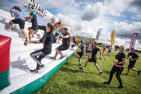 Be Gung Ho - Tcket to take part in a 5k inflatable obstacle course - Save 40%