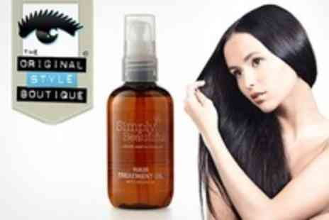 Original Style Boutique - Three  Simply Beautiful Argan Hair Treatment Oil From Morocco - Save 71%