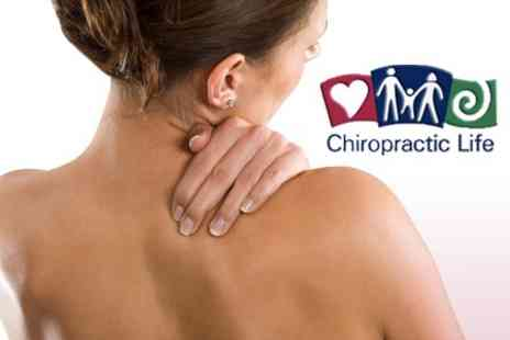 Chiropractic Life - Examination, Consultation and Two Chiropractic Treatment Sessions - Save 70%