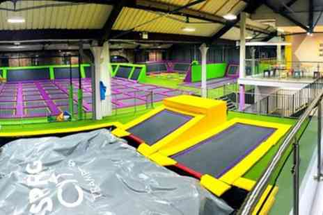 Spring City Liverpool - One Hour Trampoline Access for Up to Four - Save 26%