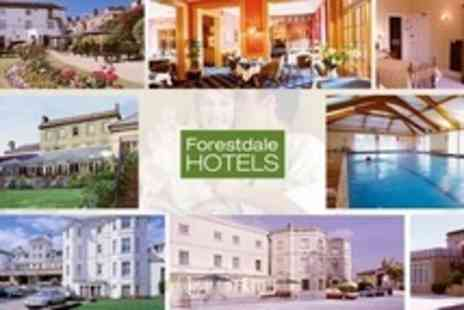 Forestdale Hotels - One Night Stay For Two With Breakfast in Barnsley - Save 37%