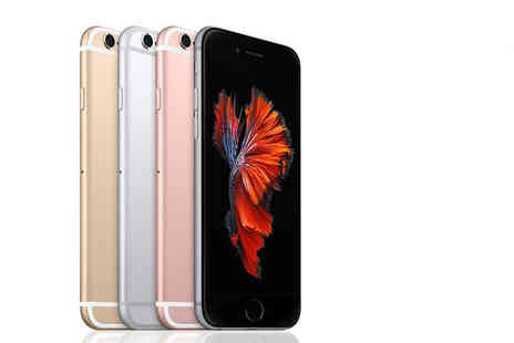 Renew Electronics - Refurbished 16GB or 64GB Apple iPhone or choose from four colours - Save 47%