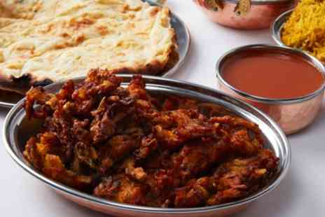 Aangan Blissfully Indian - Two Course Indian Dinner for Two or Four - Save 59%