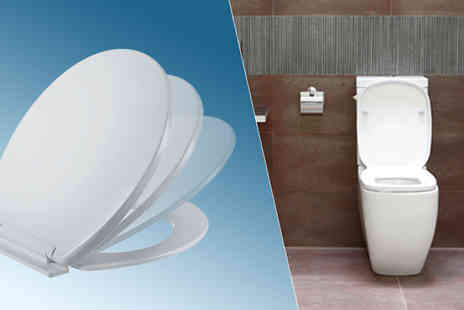 Mspackaging - Soft Close Toilet Seat With Fixings - Save 75%