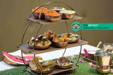 Park Grand Kensington - Indian inspired afternoon tea for two with a bottle of bubbly to share - Save 50%