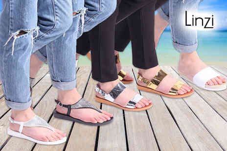 Linzi - Pair of ladies summer sandals choose Jenna, Jetta or Kasey - Save 40%
