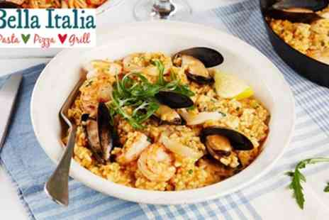 Bella Italia - Two or Three Course Italian Meal for Two or Four - Save 57%