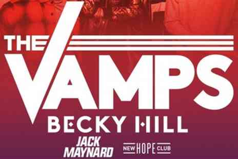 The Vamps - Open Air Concert With The Vamps, Becky Hill and Jack Maynard on Sunday 26 August 2018 - Save 11%