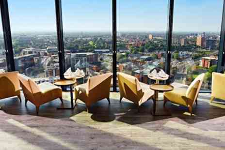 Hilton Manchester Deansgate - Sharing board & cocktails for 2 with Manchester views - Save 35%