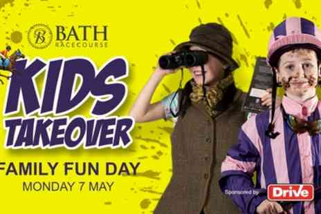 Bath Racecourse - Entry to Family Funday at Bath Racecourse for two adults or two adults and up to eight children on 7 May - Save 31%