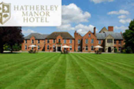 Hatherley Manor - Cotswolds getaway for two including evening meal, breakfast and afternoon cocktails - Save 50%