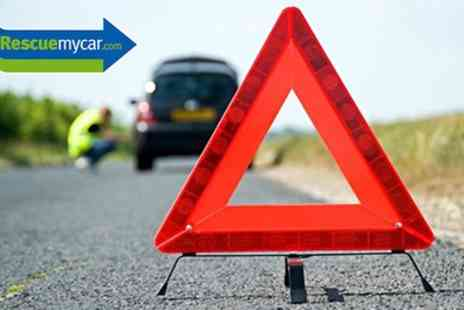 Rescue My Car - 12 Month Local or National Roadside Recovery - Save 63%
