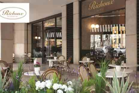 Richoux - Two or Three Course Dinner with Prosecco for Two or Four - Save 45%