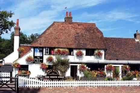 The White Swan - Two Course Meal with a Drink for Two or Four - Save 54%