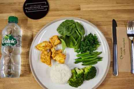 Mas Body Gym - Tailored Meal for One or Two with Drink or 5 Weight Management or Standard Meals - Save 28%
