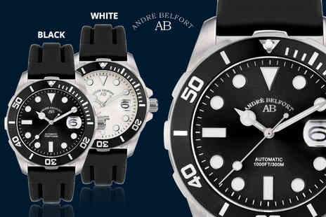 Rotatio - Andre Belfort automatic divers watch plus Delivery is Included - Save 88%