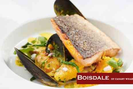 Boisdale of Canary Wharf - Two Course Lunch with a Glass of Prosecco and a Cup of Coffee for One or Two - Save 42%