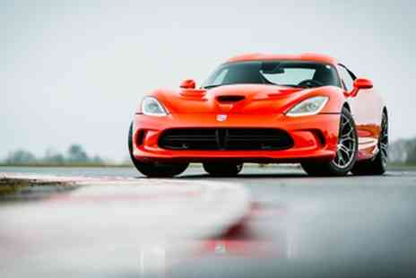 Drift Limits - Dodge Viper Driving Experience for One or Two - Save 50%