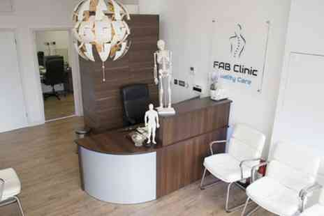 Fab Clinic - 30 or 45 Minute Acupuncture Session - Save 64%