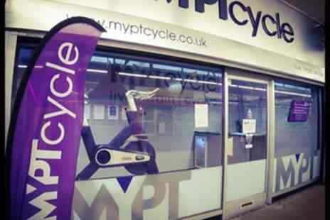 MyPTCycle - Five Spinning Classes for One or Two - Save 77%