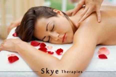 Skye Therapies - Indian Head Massage Plus Back, Neck and Shoulder Massage - Save 68%