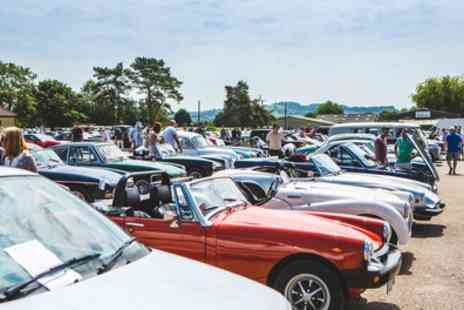 Mortons Media Group - Two Adult Tickets to Footman James Bristol Classic Car Show at Bath & West Showground on 16 to 17 June - Save 35%