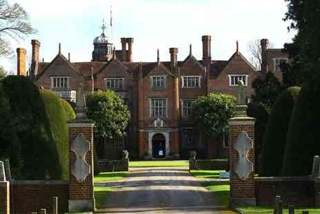 Great Fosters Hotel - Four Star 16th Century Manor with Sublime Gardens & Michelin Star For Two - Save 36%