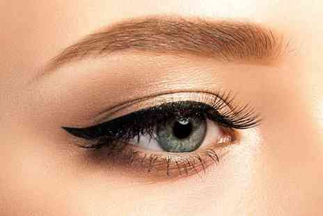 Cyan Beauty Studios - Semi permanent eyeliner treatment on your upper or lower lash line or both - Save 54%