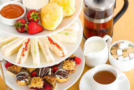 Beachside Coffee Shop - Afternoon Tea for Two or Four with Free Flowing Tea or Coffee - Save 30%