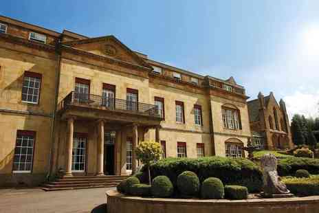 Shrigley Hall Hotel - One or two night stay for two people with breakfast, bottle of wine on arrival and one three course dinner each - Save 36%