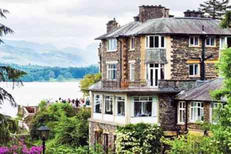 Langdale Chase Hotel - 2 AA Rosette Sunday lunch & wine for 2 in Windermere - Save 39%