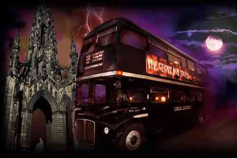 The Classic Tour - Childs or adult ticket for The Edinburgh Ghost Bus Tour - Save 25%