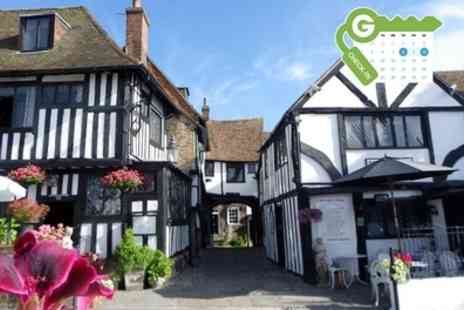 The Mermaid Inn - Double or Twin Room for Two with Breakfast and Dinner Credit for 2 AA Rosette Restaurant - Save 34%