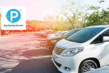 Sky Parking Services - Up to 35% Off Meet and Greet or Up to 25% Off Park and Ride Airport Parking - Save 0%