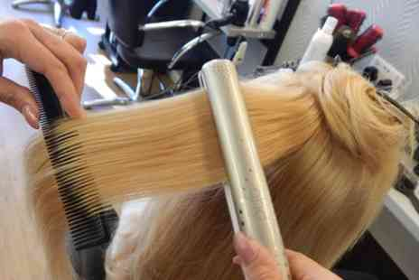 Classic Cuts - Full Head of Colour or Highlights with Ghd Straightening and Optional Cut - Save 60%