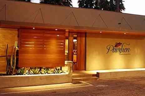 The Pavilion - Indian Tasting Experience with Coffee for Two or Four - Save 53%