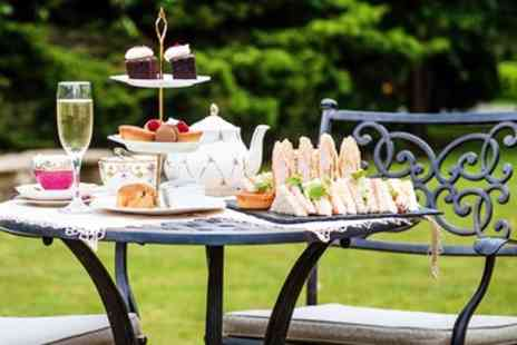 Hadley Park House Hotel - Afternoon tea for 2 with bubbly in Shropshire manor - Save 35%