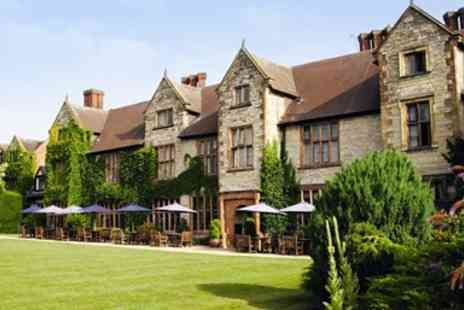 Billesley Manor Hotel - Spa day with massage, afternoon tea & bubbly - Save 56%