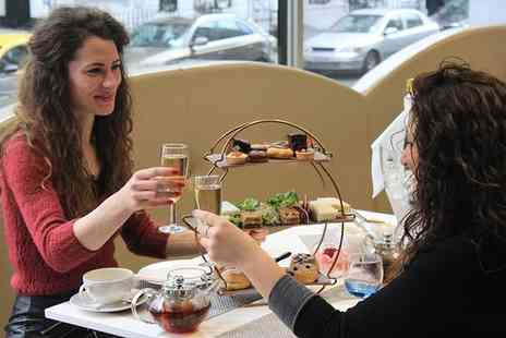 Park Grand Kensington - Chocolate afternoon tea for two people with a bottle of sparkling wine - Save 48%