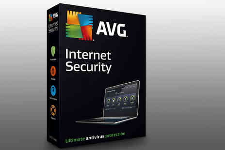 Software Link - One year subscription to AVG Internet Security 2018 - Save 0%