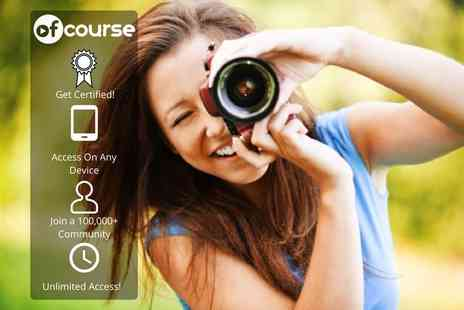 OfCourse - Online photography masterclass - Save 85%