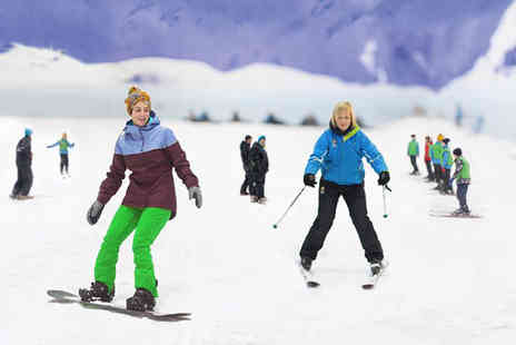 Chill Factore - One hour ski or snowboard lift pass - Save 44%