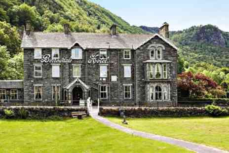 The Borrowdale Hotel - Cumbrian Stay including dinner & tea and scones - Save 0%