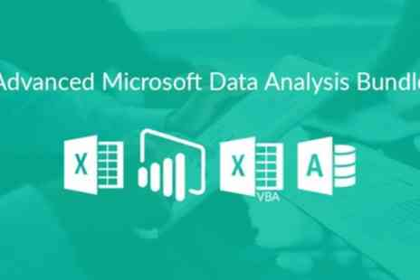 Excel with Business - Basic or Advanced Microsoft Data Analysis Online Course Bundle or Both - Save 83%