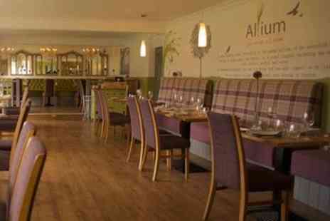 The Allium - Two Course Meal for Two or Four - Save 46%