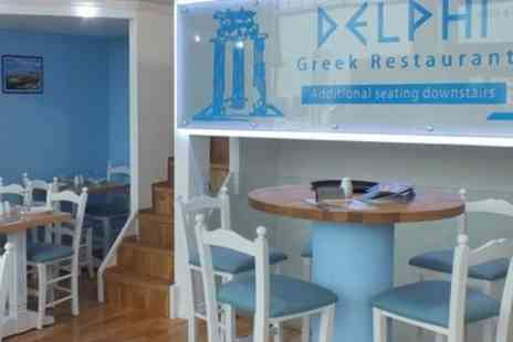 Delphi Restaurant - 20 Dish Mezze Feast with Ouzo for Two, Four or Six - Save 56%