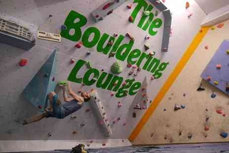 Rope Race Climbing Centre - One- hour indoor rock climbing taster session for one or two - Save 50%