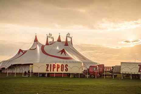 Zippos Circus - Side view or front view ticket to Zippos Circus with popcorn - Save 39%
